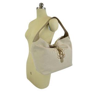 Dooney & Bourke Large LOGO ANNALISA Lock Sac Bag